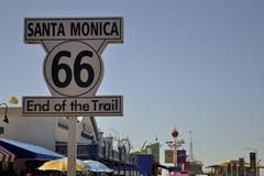 Santa Monica pir Royaltyfri Foto