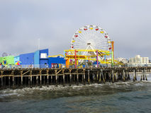 Santa Monica pir Royaltyfria Bilder