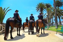 Santa Monica Police Department Royalty Free Stock Photo
