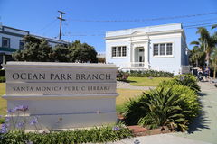 Santa Monica Public Library Stock Photo