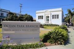 Santa Monica Public Library Stock Photo