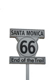 Santa Monica Route 66 Stock Photos