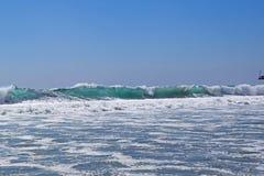 Santa Monica Surf Stock Photos