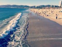 Santa Monica-toerisme Stock Foto's
