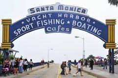Santa Monica, Vereinigte Staaten Lizenzfreies Stockfoto