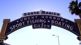 Santa Moniica Pier Entrance LOS ÁNGELES metrajes