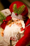 Santa with Mrs Claus Stock Images