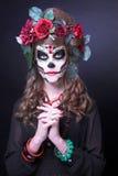 Santa Muerte. Arkivfoton