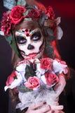 Santa Muerte. Royaltyfri Foto