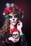 Santa Muerte. Royaltyfria Foton