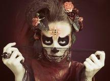 Santa Muerte. Fotografering för Bildbyråer