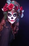 Santa Muerte. Royalty Free Stock Photography