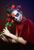 Santa Muerte. Stock Photos