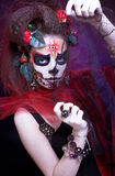 Santa Muerte. Stock Photo