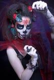 Santa Muerte. Stock Images