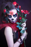 Santa Muerte. Royalty Free Stock Photography