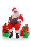 Santa Naughty or Nice Stock Image