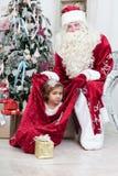 Santa Nicolai's gifts Royalty Free Stock Photos
