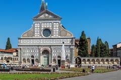 santa novella της Μαρίας εκκλησιών Στοκ φωτογραφίες με δικαίωμα ελεύθερης χρήσης