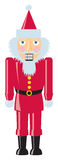 Santa Nutcracker Images stock