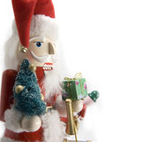 Santa nutcracker Stock Images