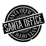 Santa Office rubber stämpel Royaltyfria Bilder