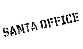 Santa Office rubber stamp Royalty Free Stock Photos
