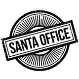 Santa Office rubber stamp Stock Photo