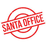Santa Office rubber stamp Royalty Free Stock Photo