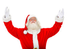 Santa with open arms Stock Photos