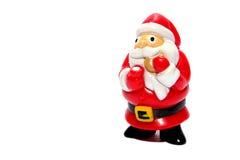 Santa Ornament Zdjęcie Stock