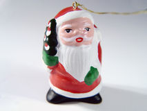 Santa Ornament Stock Photos
