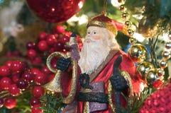 Santa Ornament Stock Images
