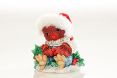Santa Owl Ornament Stock Photos