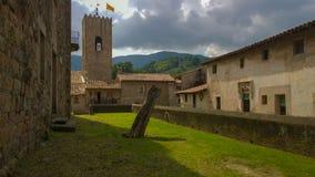 Santa Pau medieval heritage Stock Photography