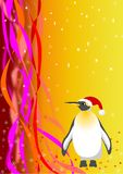 Santa Penguin. vector file Royalty Free Stock Images