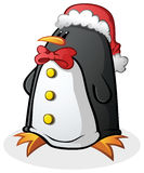 Santa Penguin Stock Photos