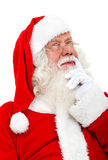 Santa pensive Royalty Free Stock Photography
