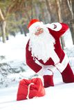 Santa perdido Imagen de archivo