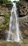 Santa Petronilla waterfall in Biasca, Switzerland Royalty Free Stock Photo