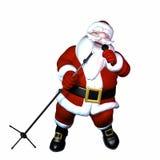 Santa śpiew Zdjęcia Stock