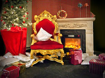 Santa place Royalty Free Stock Photo