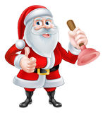 Santa Plumber Stock Photography