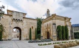 santa poblet επισκόπησης μοναστηριών de Μαρία Στοκ φωτογραφία με δικαίωμα ελεύθερης χρήσης