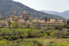 santa poblet επισκόπησης μοναστηριών de Μαρία Στοκ Εικόνα