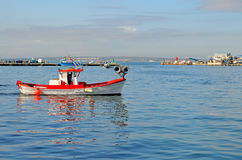 Fishing Boat - Mediterranean Fishing Fleet Stock Image