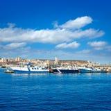 Santa Pola-havenjachthaven in Alicante Spanje Stock Afbeeldingen