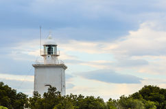 Santa Pola lighthouse Stock Images