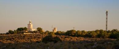 Santa Pola lighthouse Stock Images