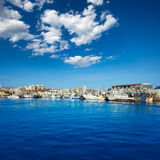 Santa Pola port marina in Alicante Spain Royalty Free Stock Images